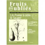 Fruits Oubliés, 2002-26 - Un poirier à cidre : le Sauger