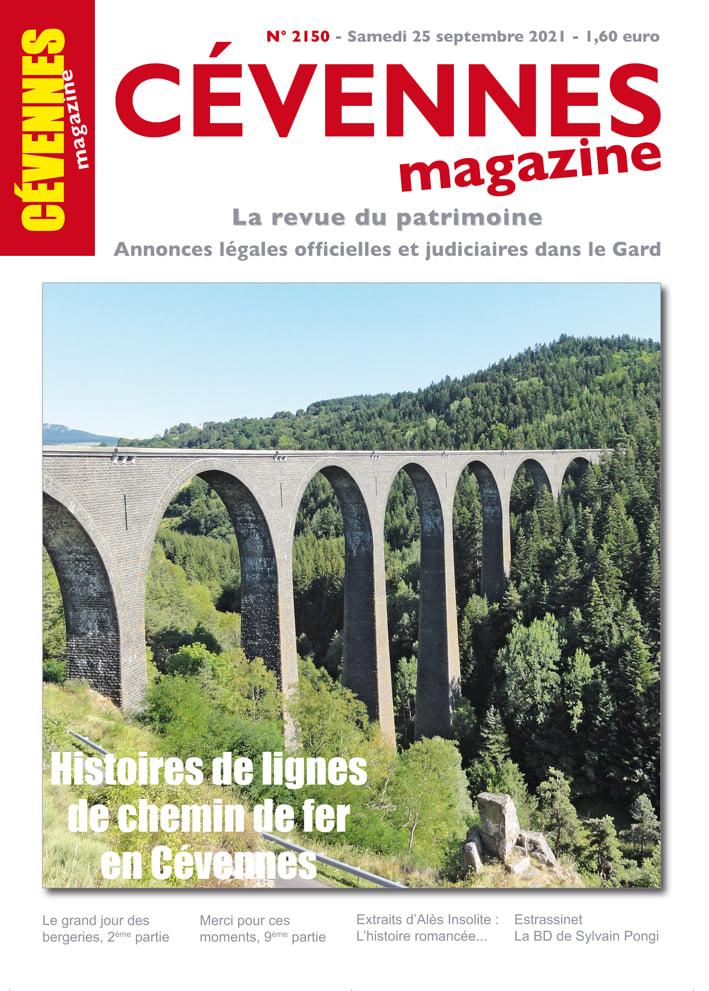 Cévennes Magazine, 2150 - Bulletin n°2150