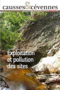 Causses et Cévennes, 1 - Exploitation et pollution des sites