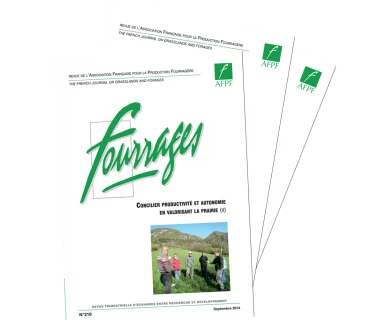 Fourrages, 247 - Fourrages et Prairies 2.0
