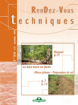 Rendez-vous techniques de l'ONF, 25-26 - Bulletin n°25-26