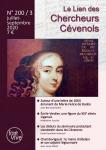 Le Lien des Chercheurs Cévenols, 200/3 - Bulletin n°200/3