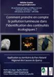 Comment prendre en compte la pollution lumineuse dans l'identification des continuités écologiques ?