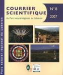 Courrier scientifique du Parc naturel régional du Luberon et de la Réserve de biosphère Luberon-Lure, 8 - Bulletin n°8