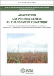 Adaptation des prairies semées au changement climatique
