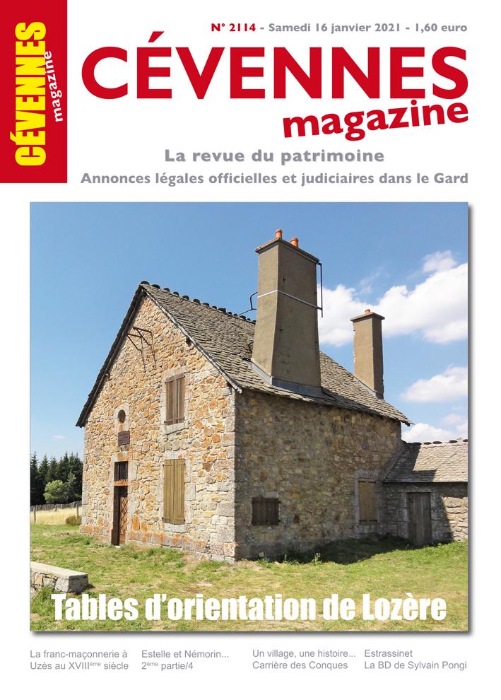 Cévennes Magazine, 2114 - Bulletin n°2114