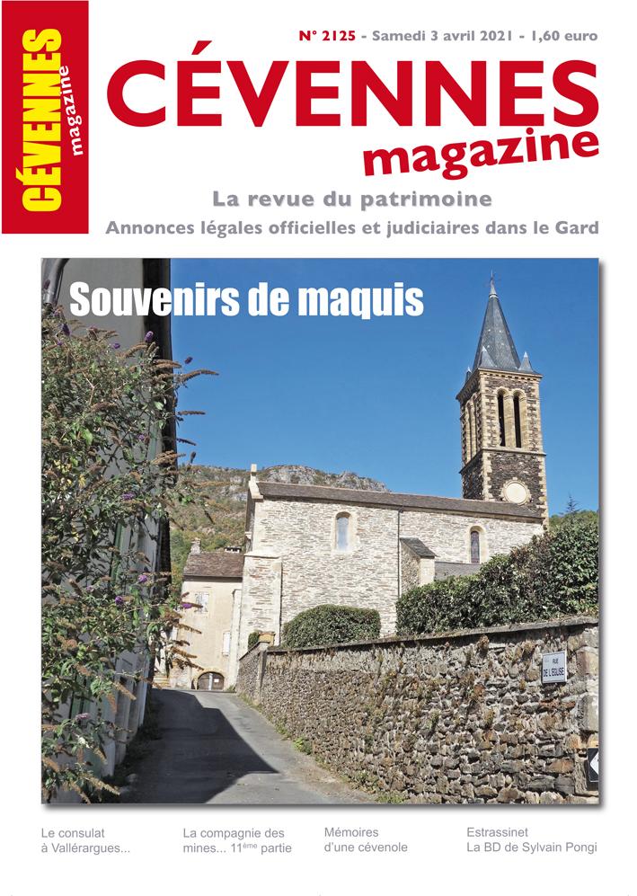 Cévennes Magazine, 2125 - Bulletin n°2125