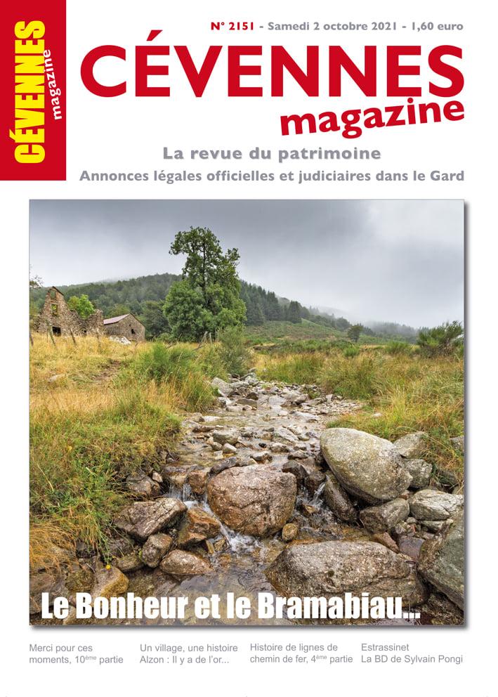 Cévennes Magazine, 2151 - Bulletin n°2151