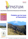 Pastum, 104 - Prédation par les loups et Pastoralisme
