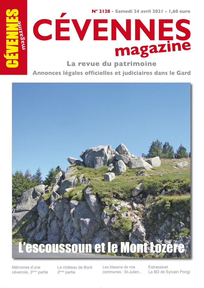 Cévennes Magazine, 2128 - Bulletin n°2128