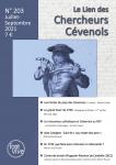 Le Lien des Chercheurs Cévenols, 203 - Bulletin n° 203