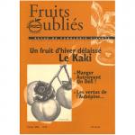 Fruits Oubliés, 2005-35 - Un fruit d'hiver délaissé Le Kaki