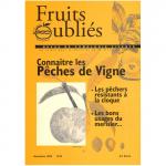 Fruits Oubliés, 2005-36 - Connaître les pêches de vigne