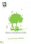 Eduquer au développement durable : nouveaux défis, nouvelles pratiques dans les territoires ?